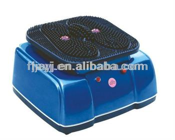 Vibrating foot massager with infrared heat