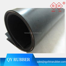 Nylon Inserted black SBR NBR insertion Rubber Sheet