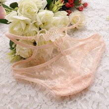 Newest style lace pictures of women in transparent underwear