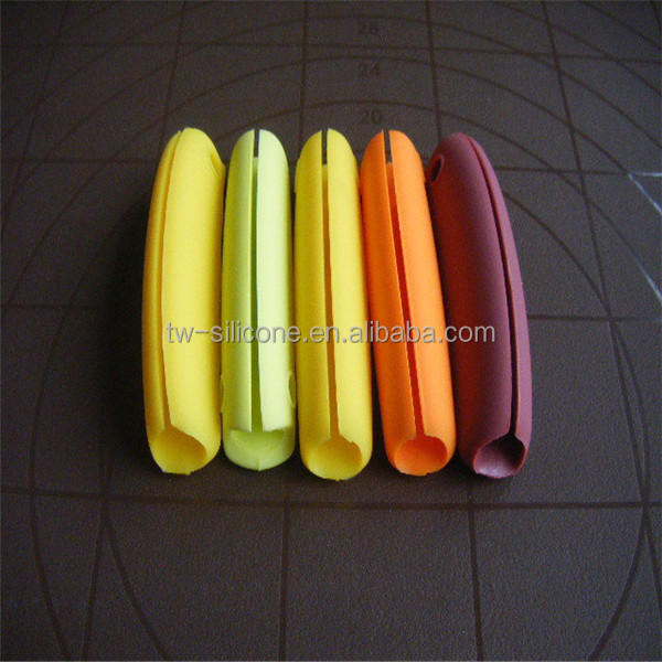 Adjustable silicone plastic bag handle luggage handle