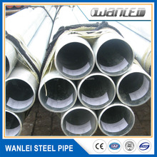 zinc content 705 g/m2 hot dip galvanized steel pipe for greenhouse