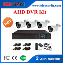 Professional CCTV Manufacturer Day and Night Sentient CCTV Kit Longse AHD Bullet 4 Channel DVR Kit
