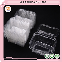 Tamper Proof Seal Plastic Packaging Containers Box For Food