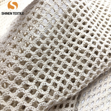 Professional in 100% cotton Warp netting mesh <strong>fabric</strong> for reusable organic bag