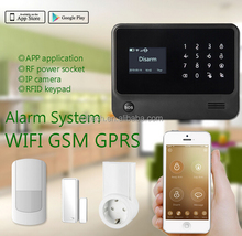 FDL-G90B 2016 WiFi GSM GPRS alarm,long-range wireless alarm system,wifi gsm gprs wireless smart home