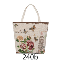 hot canvas handbag women mens shoulder bag lady england style women canvas bag