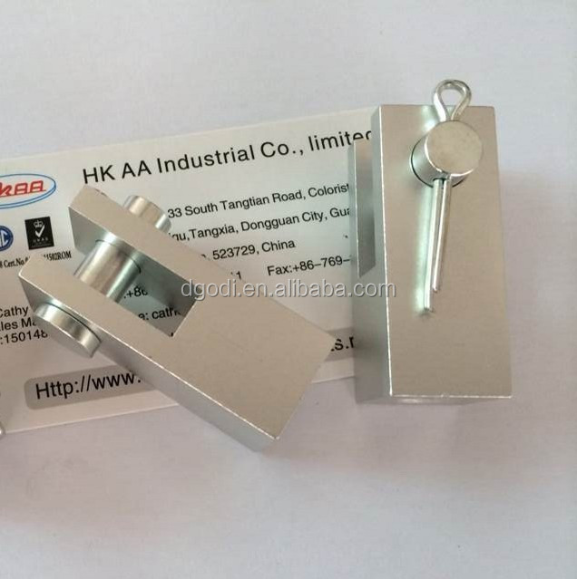 Aluminum adjustable fork type u clevis