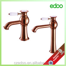 Polished Bathroom Basin Sink Mixer Tap Single Handle Waterfall Faucets China Supplier