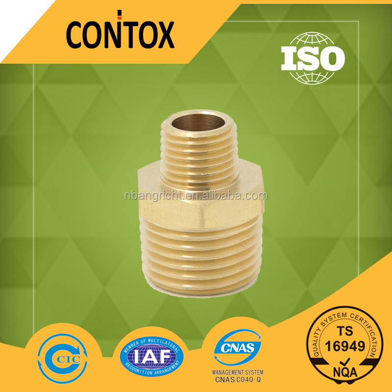 B404 Male threaded quick connection brass air hose connector