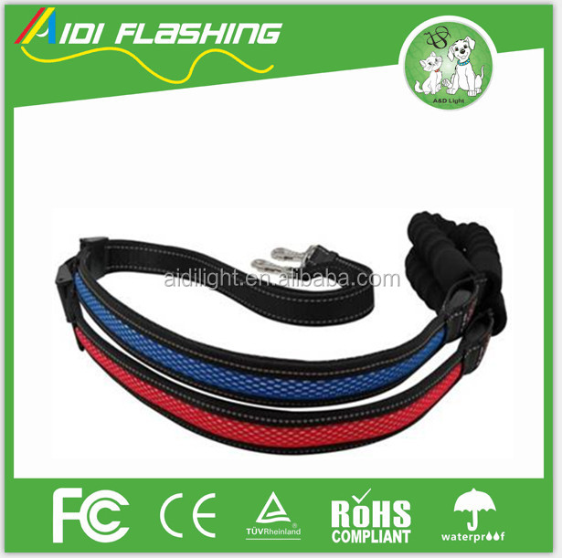 Factory price high quality wholesale LED flashing dog collar leash - USB Rechargeable