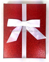 Wholesale Christmas Gift Packaging Cosmetic Glitter Boxes