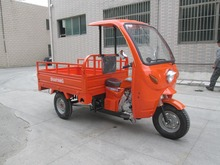 150cc Cabin Motor Tricycle Three Wheel Cargo Trike with Front Tent