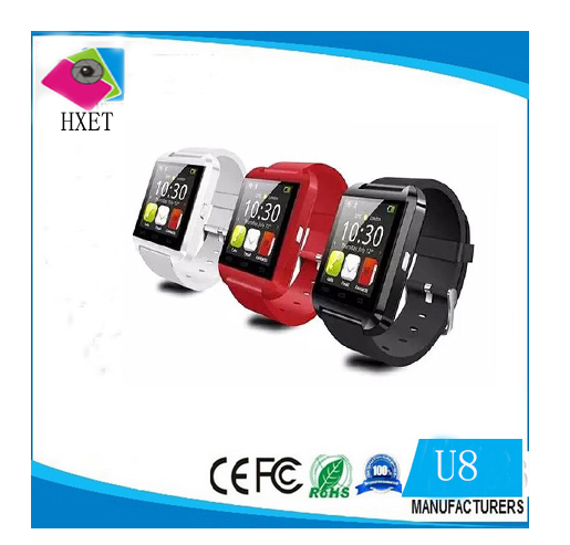 U8 Bluetooth Smart Watch For Apple ios/For Samsung /Android Phone Man woman Wearable smartWatch