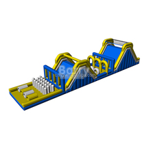 2017 hot interactive inflatable obstacle course jumpers/ giant inflatable playground