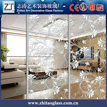 Decorative art large sheet glass prices mirror