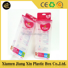 New nursing bottle packing box pvc plastic box