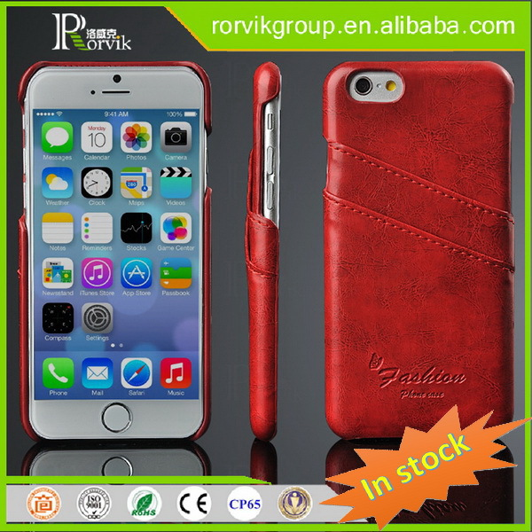 Phone case for iPhone 6 , leather case for iPhone 6 , leather back cover case