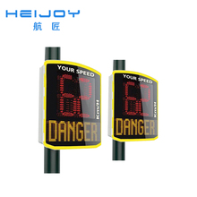 HEIJOY-STL-23 retired traffic signal reflective aluminum sheeting sign perforated steel square posts Solar lights