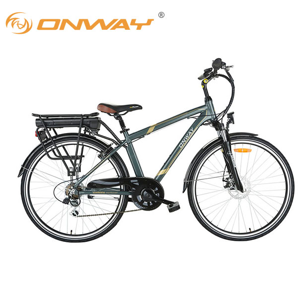 Mountain Bike Frame 700C Cheap Hot Sale Classic City Electric Bike 36V 250W Rear Motor EN15194 APPROVAL