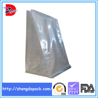 Transparent eight side seal plastic bag for health food dried fruits