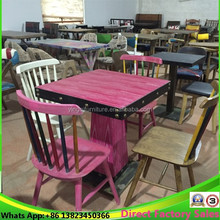 Wholesale Factory Price Wooden Windsor Dining Chairs