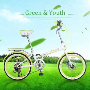 New Model 6 Speed High Carbon Steel Bicycle Folding Cycle Mother Kid Bike Cycle