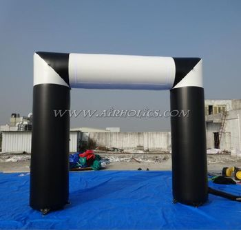Cheap price size and colors custom durable PVC inflatable start/finish line arch for sale H1011