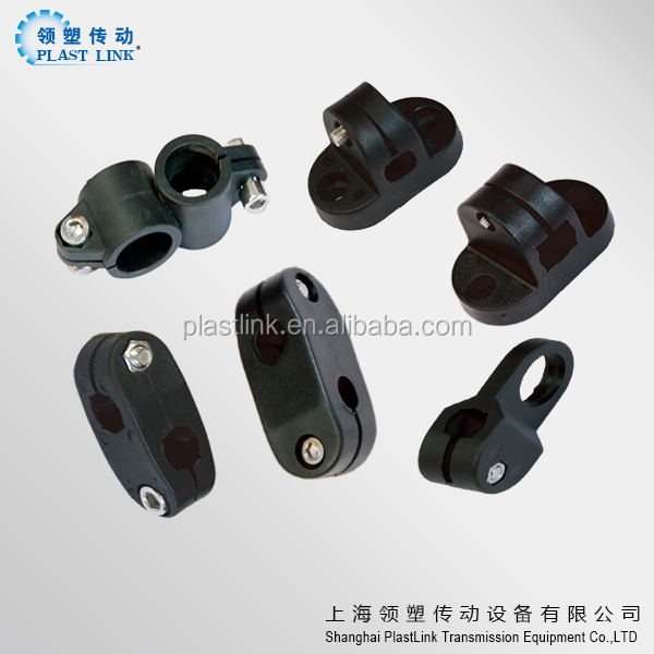 assemble line Plastic cross clamp for rod and tube and pipe