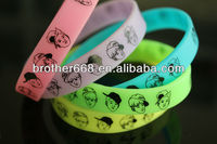 whosale cheap Rubber wristband,High quality Rubber Band, thin silicone rubber bracelets