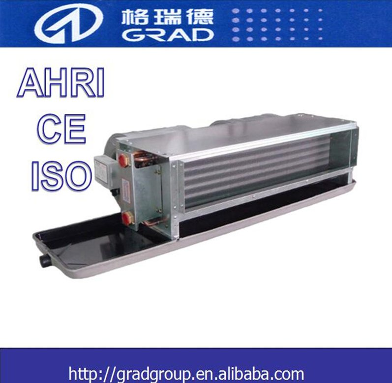 GRAD horizontal concealed fan coil unit / FCU / air conditioner