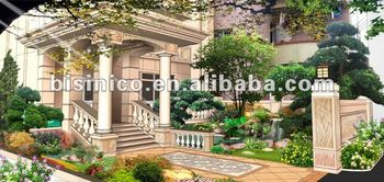3D exterior design,3D landscape design,3D rendering,3D decorating design