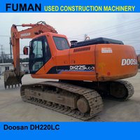 used excavator machine Doosan DH220LC-7 used excavator cheap second hand excavator