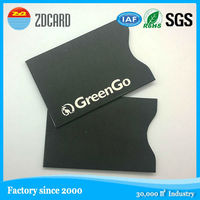 RFID blocking, anti-scan CMYK printing card holder
