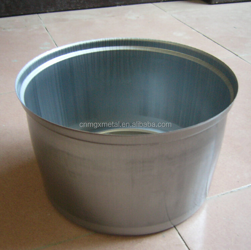 OEM Customized Fabrication High Quality Deep Drawing Stamping Stainless Steel Round Pot