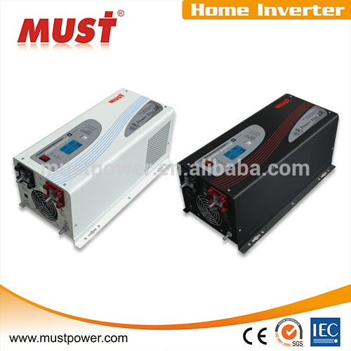 Low Frequency 48V To 220V Power System 1KW-6KW Power Inverter With Solar Panel