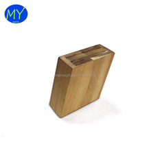 Custom printed hot selling acacia wood knife block for sale with long life