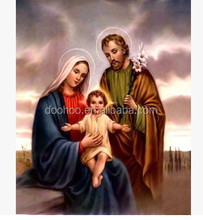 Jesus and virgin mary 3d picture