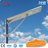 30W CE ROHS Integrated Solar Lamp
