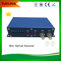 1 Output Mini CATV FTTH Optical Receiver