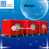 Various colors OffShore Surface buoys manufactured by Evergreen