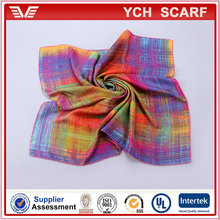 High Quality New Fashion Twill 100 Pure Silk Scarves 90x90