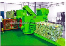 Automatic Horizontal Hydraulic Press Baler Machine for sale
