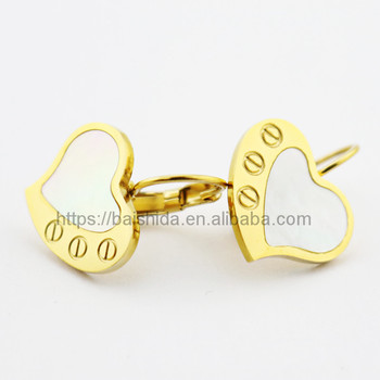 wholesale products heart mens earring ear stud wholesale products