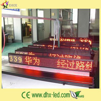 P7.62 taxi roof top signs leds