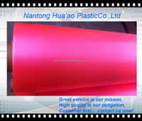 Soft PVC elastic transparent film for rainwear/diaper moisture proof