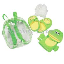 Professional Hottest 4PCS Bath gift set with slipper