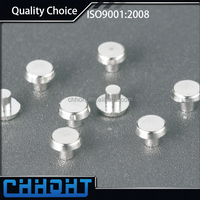 Bimetal Electrical Contact Rivet ,aluminium Solid rivet, Trimetal Contact Rivet