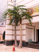 2014Hot sales coco tree indoor & outdoor decoration Artificial coconut tree/fake coco tree/coconut tree with light