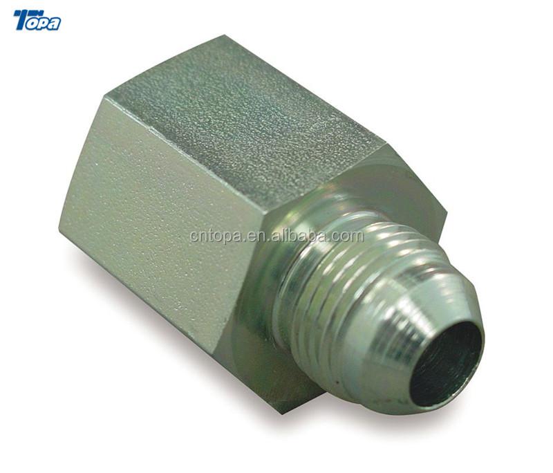 """5//8/"""" Female JIC x 3//4/"""" Male JIC Hydraulic 37° Flare to Flare Adapter 2406-10-12"""