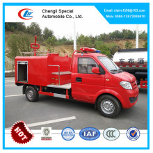 DongFeng Cheap mini fire fighting truck 1 ton small water tender fire truck for aireport